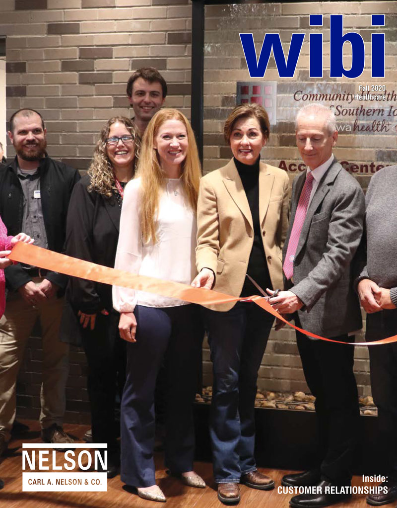 <b>The Fall 2020 edition of wibi featured healthcare client relationships.</b>