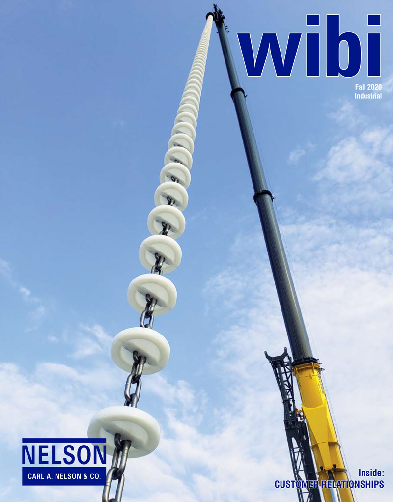 <b>The Fall 2020 wibi newsletter was focused on customer relationships.</b>