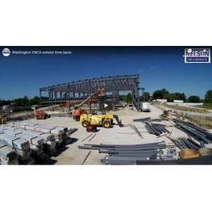 Time-lapse video of Washington YMCA project