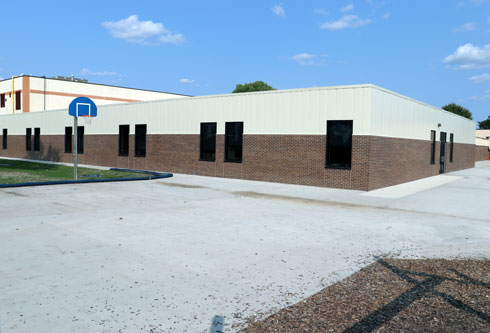 Elementary school addition, Danville, Iowa, construction management agency project