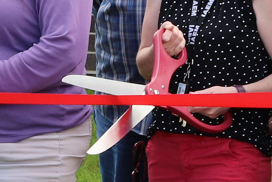 Ribbons cut on pair of CANCO construction projects