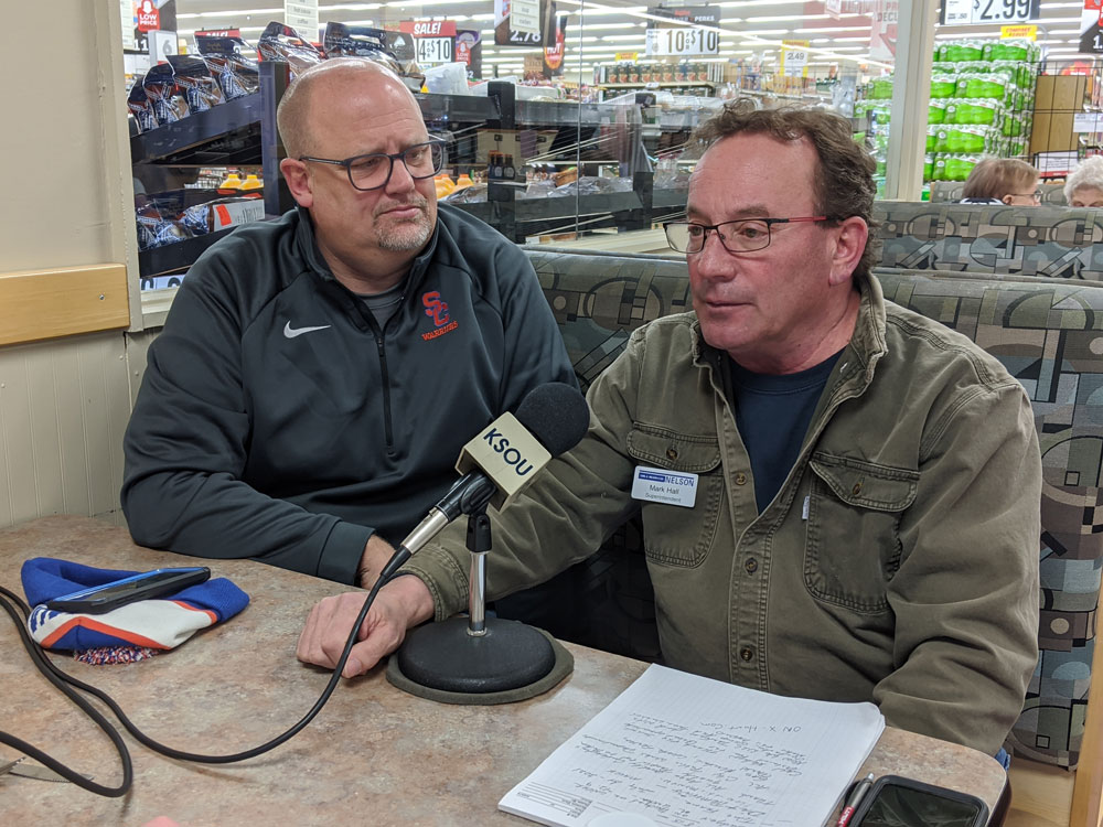 CANCO superintendent goes on-air to talk Sioux Center High School